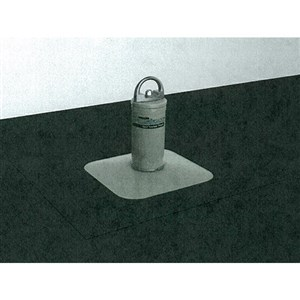 Miller Fusion X10030 Membrane/Built-Up Roof Anchor Post