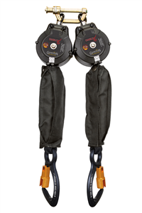 Guardian 11085 Diablo Double Leg 6 Foot Self Retracting Web Lifeline