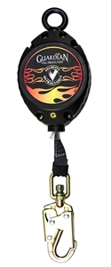 Guardian 42006 Velocity 20 Foot Web Retractable Lifeline