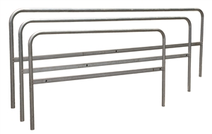 Roof Zone 70765 7.5 Foot Galvanized RZ Guardrail Section