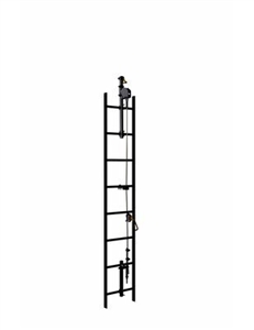 3M DBI/SALA 6118030 Lad-Saf 2 User 30 Foot Galvanized Cable Vertical Climbing System.