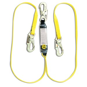 Guardian 01230 SS72-2-6 Double Leg Shock Absorbing Web Lanyard