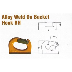 Pewag BH-8 Alloy Weld On Bucket Hook BH Style
