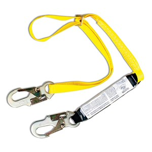 Guardian 01285 SSAWL 4-6 Adjustable Shock Absorbing Web Lanyard