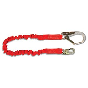 Guardian 01297 Internal Stretch Shock Absorbing Lanyard With Rebar Hook