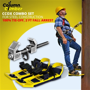 Column Climber CCOX-13 Combo Fall Protection System For Steel Erectors