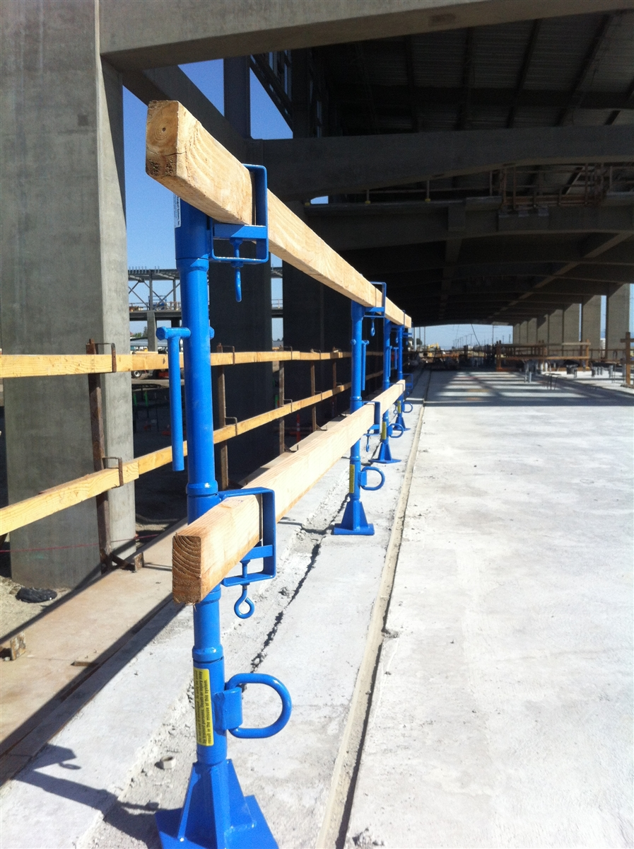 Saps Sap42d Safety Anchor Post System For Use In Concrete
