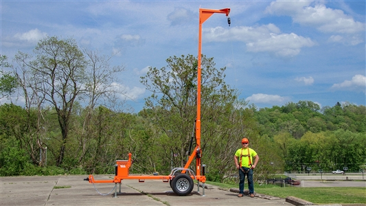 Malta Dynamics X1000 Grabber Mobile Adjustable Height Fall Protection System