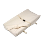Naturepedic Organic Cotton Changing Pad Cover - Fits 2 Sided, Natural - CH61