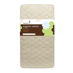 Naturepedic Organic Cotton Quilted Deluxe Crib Mattress, Quilted - MC50