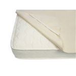Naturepedic Organic Cotton Flannel Pad, Natural - Full w/Straps - PF65N