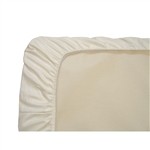 Naturepedic Organic Cotton Ivory Sateen Mini Crib / Portable Crib Sheet - SP50I