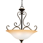 Quoizel 4 Light Duchess Pendant in Palladian Bronze - DH2820PN
