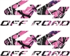 MUDDY GIRL® 4 x 4 OFF ROAD DECALS (2 Decals)