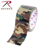 "ROTHCO - CAMO DUCT TAPE WOODLAND 2"" X 10 YD"