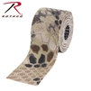 "ROTHCO - SELF CLING CAMO WRAP 2"" X 144"" KRYPTEK HIGHLANDER"