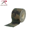 "ROTHCO - SELF CLING CAMO WRAP 2"" X 144"" MARPAT WOODLAND"