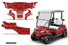 Club Car Onward 2 Passenger Golf Cart Graphic Kit