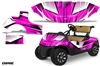 EZ GO FREEDOM RXV GOLF CART GRAPHICS 2015+