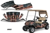 E-Z-GO TXT Golf Cart Graphic Kit EZGO Wrap 2014+