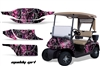 EZGO TXT Golf Cart Graphic Kit 1994-2013