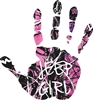 MUDDY GIRL® JEEP GIRL HAND DECAL