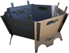 "Outdoor Custom Products 20"" Portable Camping Fire Pit Modular Outdoor Firepit"