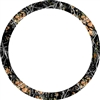 "Outshine® CAMOUFLAGE STEERING WHEEL COVER - Large (15"" - 15.5"")"