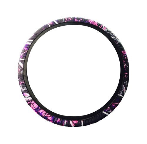 "MOON SHINE CAMO® CAMOUFLAGE STEERING WHEEL COVER - Large (15"" - 15.5"")"