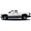 "MOON SHINE CAMO® -  CAMO GRASS - REGULAR CAB WHEEL WELLS & ROCKER PANEL (5 - 21"" x 56"" Tall Grass Pieces) (4 - 9"" x 56"" Small Grass Pieces)"