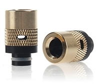 510 Size Wide Bore Brass w/ Delrin Fitting Adjustable Airflow