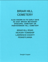 Briar Hill Cemetery, Hickory Twp., Lawrence Co., PA – Copper