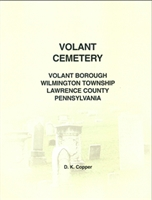 Volant Cemetery, Volant Borough, Wilmington Twp., Lawrence Co., PA – Copper