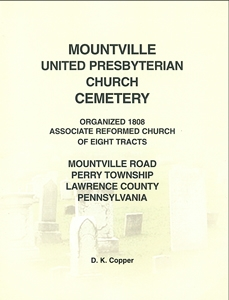Mountville U.P. Church Cemetery, Perry Twp., Lawrence Co., PA – Copper