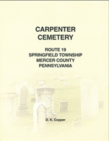 Carpenter Cemetery, Springfield Twp., Mercer Co., PA – Copper