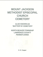 Mt. Jackson Methodist Episcopal Church Cemetery, N. Beaver Twp., Lawrence Co., PA – Copper