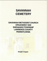 Savannah Cemetery, Savannah Methodist Church, Shenango Twp., Lawrence Co., PA – Copper