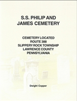 S.S. Philip & James Cemetery, Located Rt. 388, Slippery Rock Twp., Lawrence Co., PA – Copper