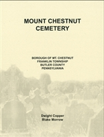 Mount Chestnut Cemetery, Franklin Twp., Butler Co., PA – Copper/Morrow