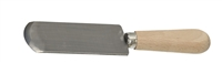 French Leather-Paring Knife with Wood Handle