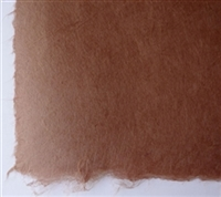 Korean Hanji Restoration and Conservation Repair Paper - Medium Brown