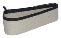 Headbands - 100% Medium Cotton - Solid Black - Per 2 Yards