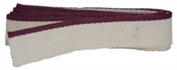 Headbands - 100% Medium Cotton - Solid Burgundy - Per 2 Yards