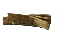 Book Headbands - 100% Medium Cotton - Antique Gold - Per 2 Yards