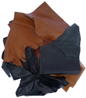 Leather Cuts, Large - 1 Lb., Various Colors