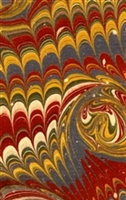 Payhembury Traditional Hand-Made Marbled Paper T6