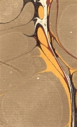 Payhembury Traditional Hand-Made Marbled Paper K19