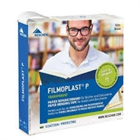 "Filmoplast P Clear Paper Mending Tape .8"" x 164'"