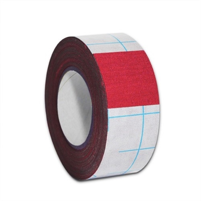 "Filmoplast T Cotton Fabric Tape 1.2"" x 33' - Red"