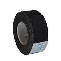 "Filmoplast T Cotton Fabric Tape 2"" x 33' - Black"